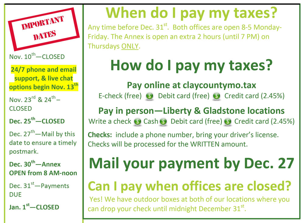 Clay County Property Tax Collector