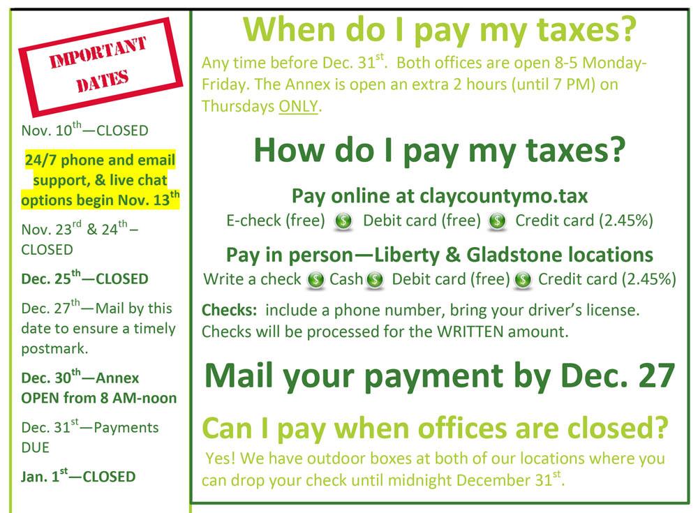 Property Taxes Clay County Mo