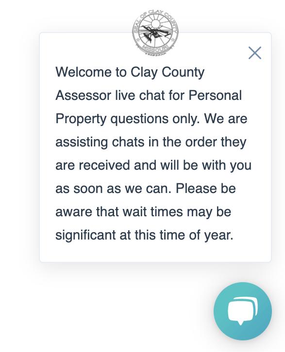 assessor live chat